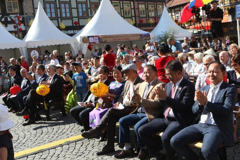 Lễ hội đèn lồng Hội An lần thứ 2 lộng lẫy tại Wernigerode, Đức