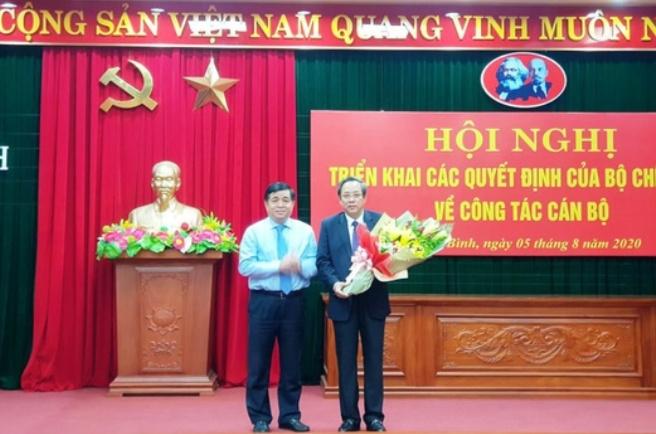 Quảng Bình có tân Bí thư Tỉnh ủy mới.