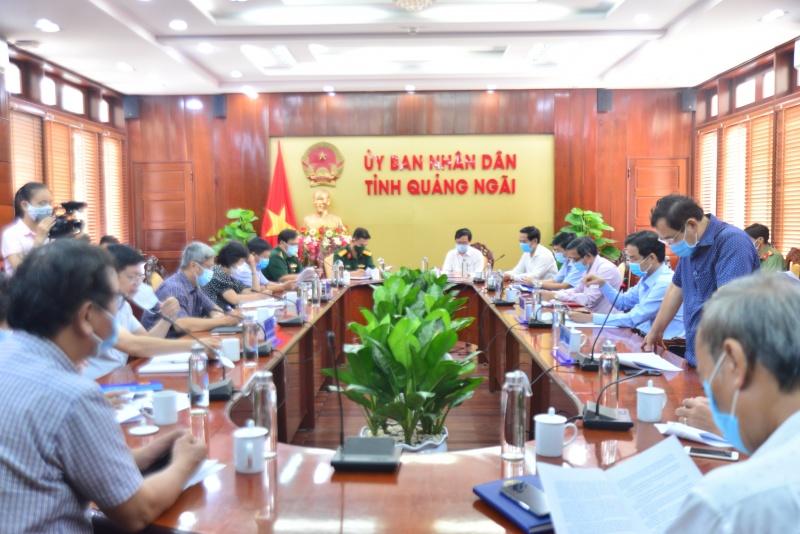 Bộ Y tế làm việc với tỉnh Quảng Ngãi về công tác phòng, chống Covid - 19