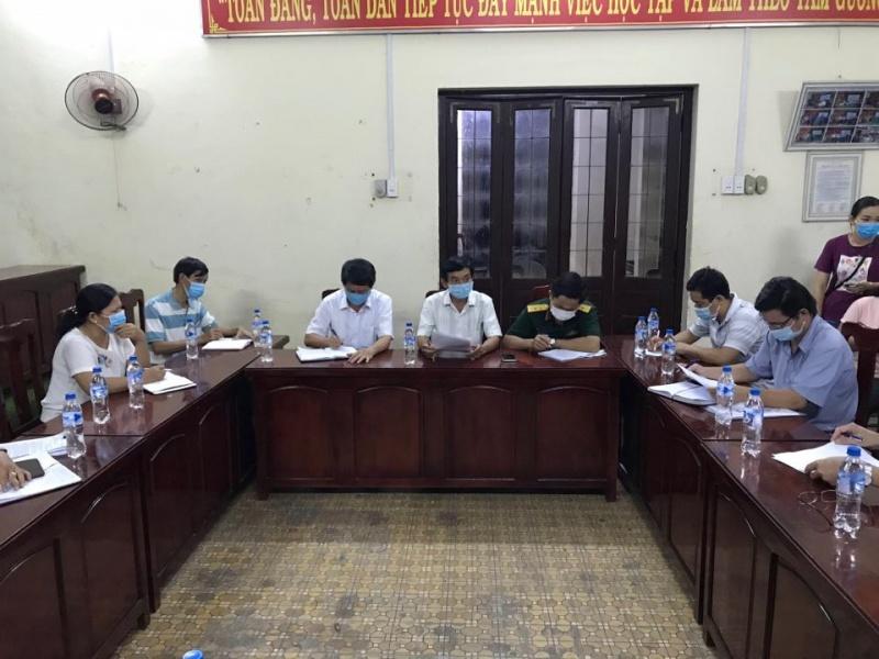 Lịch trình di chuyển bệnh nhân 787 tại huyện Tư Nghĩa, tỉnh Quảng Ngãi