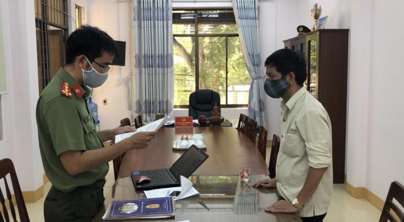 Quảng Ngãi: Xử lý kẻ giả mạo trang thông tin điện tử UBND tỉnh