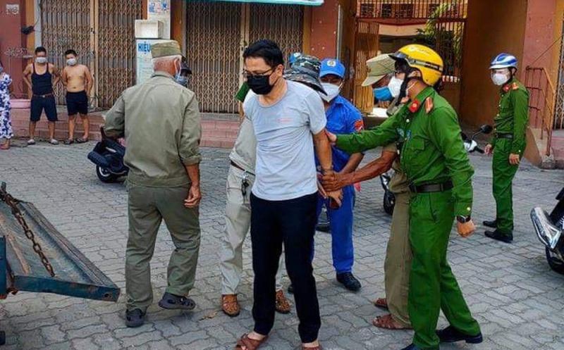 Đà Nẵng: Xô xát với nhân viên y tế, một cán bộ bị lực lượng chức năng can thiệp