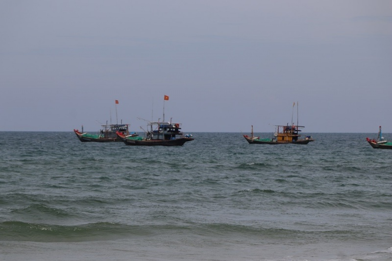 Bão số 5: Hơn 12.000 ngư dân Quảng Nam, Quảng Ngãi còn ở ngoài khơi