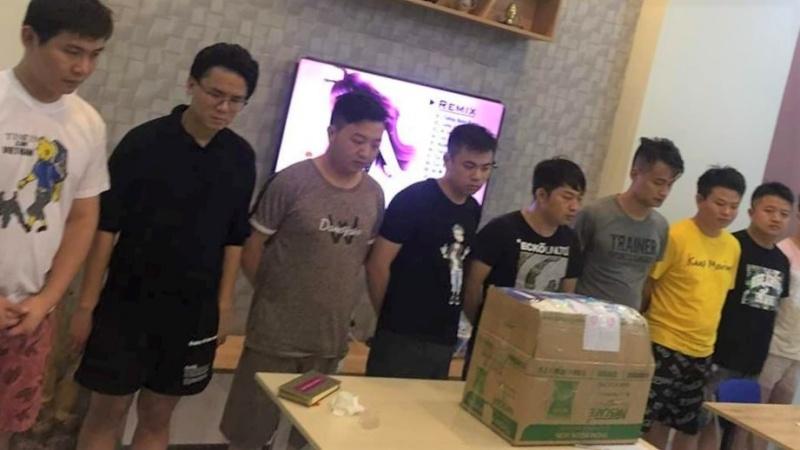 Đà Nẵng phát hiện 10 người Trung Quốc nhập cảnh trái phép