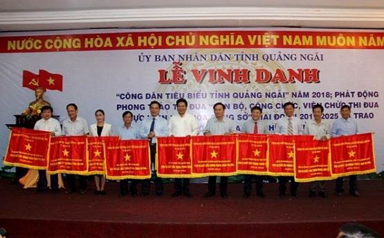 Quảng Ngãi: Lần đầu tiên vinh danh công dân tiêu biểu
