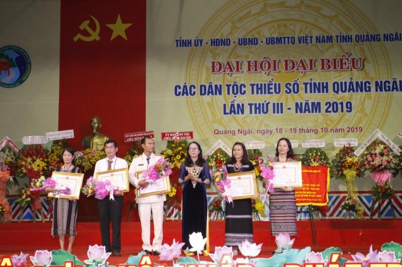 Quảng Ngãi: Đại hội Đại biểu các DTTS tỉnh Quảng Ngãi lần thứ III năm  2019