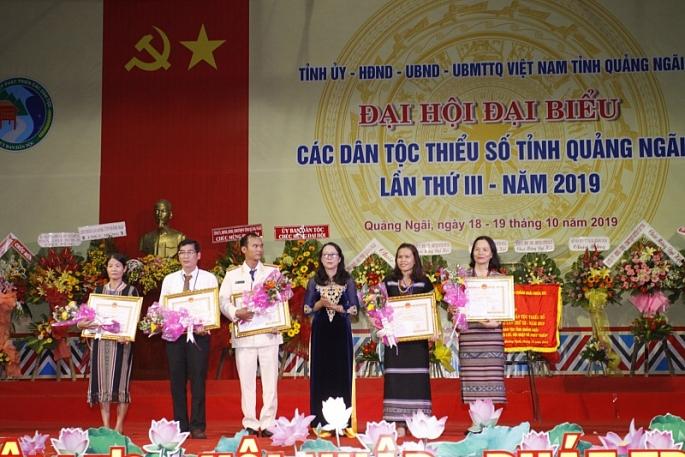 quang ngai dai hoi dai bieu cac dtts tinh quang ngai lan thu iii nam 2019