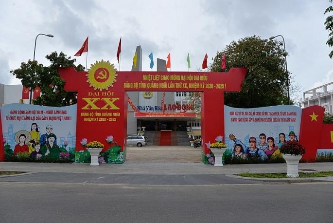 quang ngai khai truong trung tam bao chi phuc vu dai hoi dang bo tinh lan thu xx nhiem ky 2020 2025