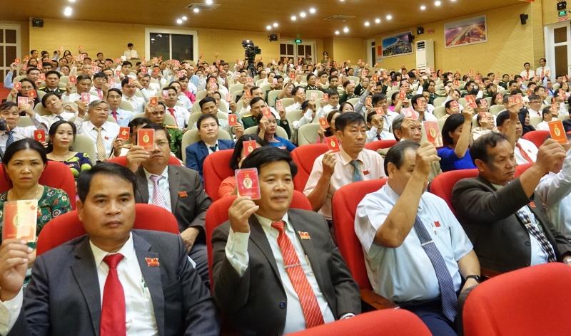 Quảng Ngãi: Phiên trù bị Đại hội đại biểu Đảng bộ tỉnh thứ XX