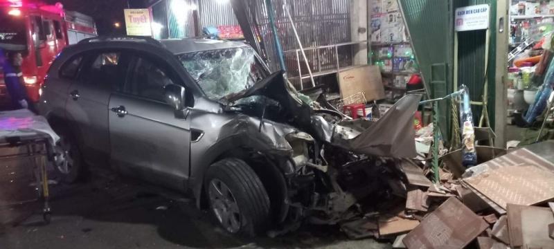 Quảng Ngãi: Tai nạn liên hoàn, khiến 6 người thương vong