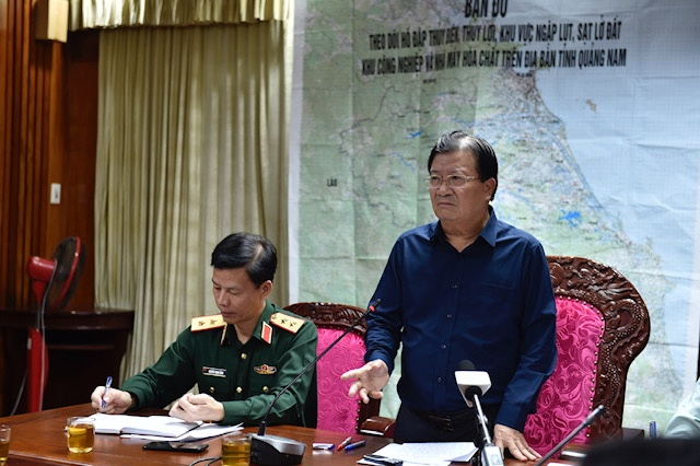 Quảng Nam: Sạt lở đất khiến 7 người chết, 46 người mất tích