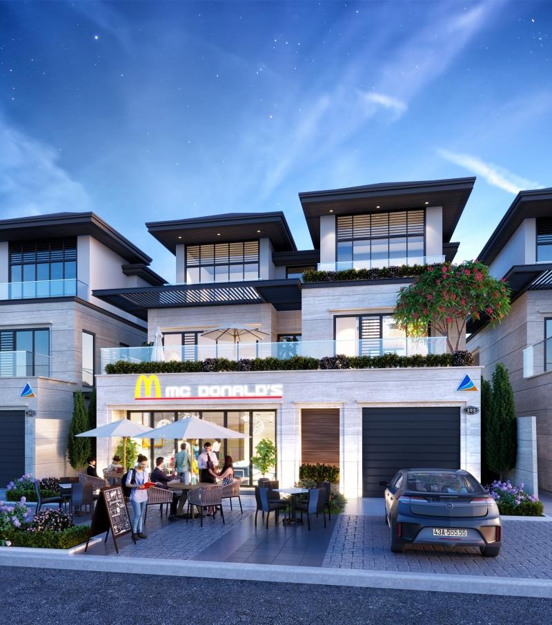 Ngắm mẫu biệt thự Victoria Boulevard siêu đẹp sắp ra mắt của Regal Homes