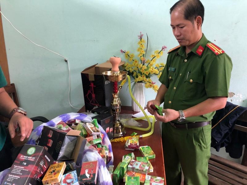 Đà Nẵng: Bắt lô hàng shisha Trung Quốc nhập lậu