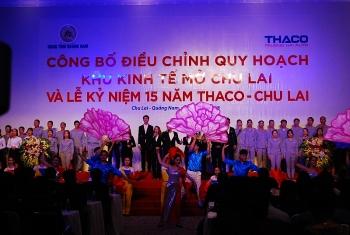 quang nam thu tuong nguyen xuan phuc du le cong bo dieu chinh quy hoach khu ktm chu lai ki niem 15 nam thaco chu lai