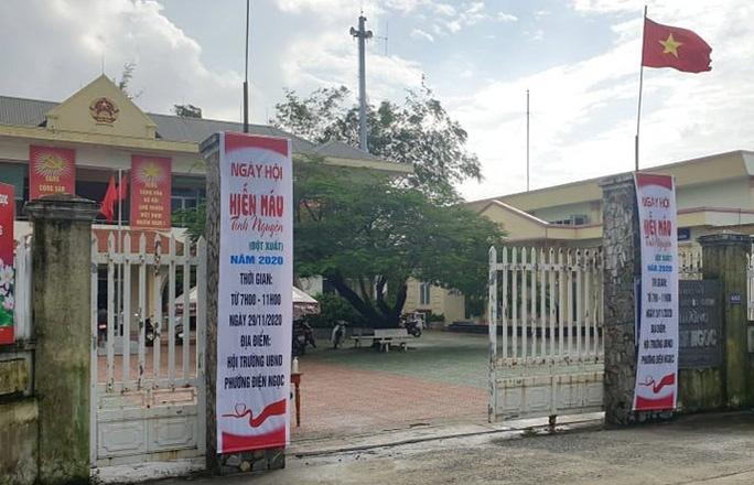 Quảng Nam: Bắt một cán bộ địa chính phường
