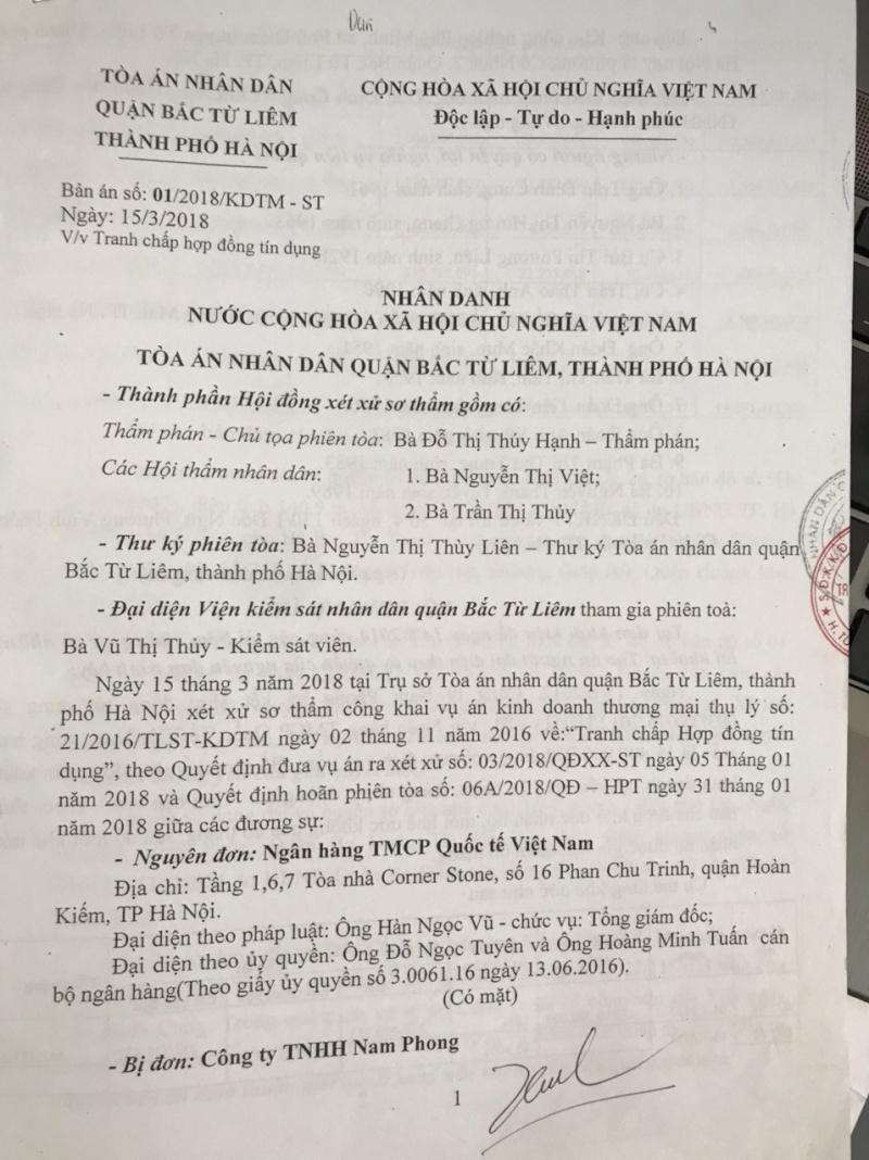 Vi phạm tố tụng của Tòa án nhân dân quận Bắc Từ  Liêm  đang đẩy Gia đình mẹ Việt Nam Anh hùng vào nguy cơ mất nhà
