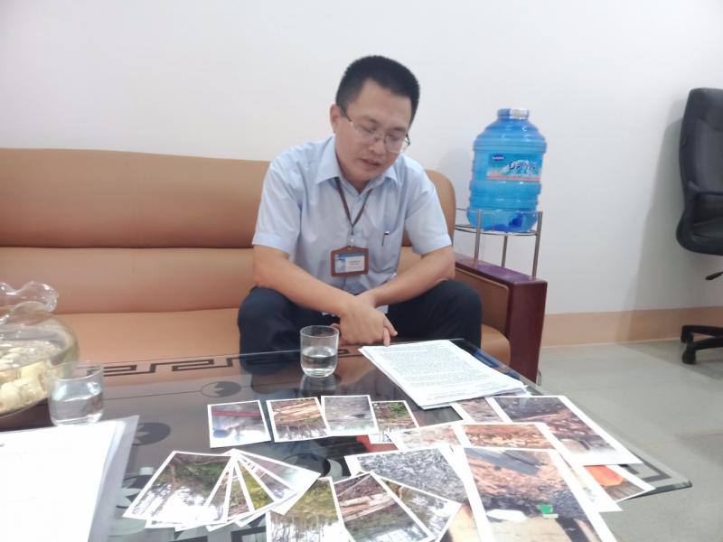 (Đắk Nông) Công ty CP Thiên Sơn ngang nhiên chặt phá rừng trái pháp luật