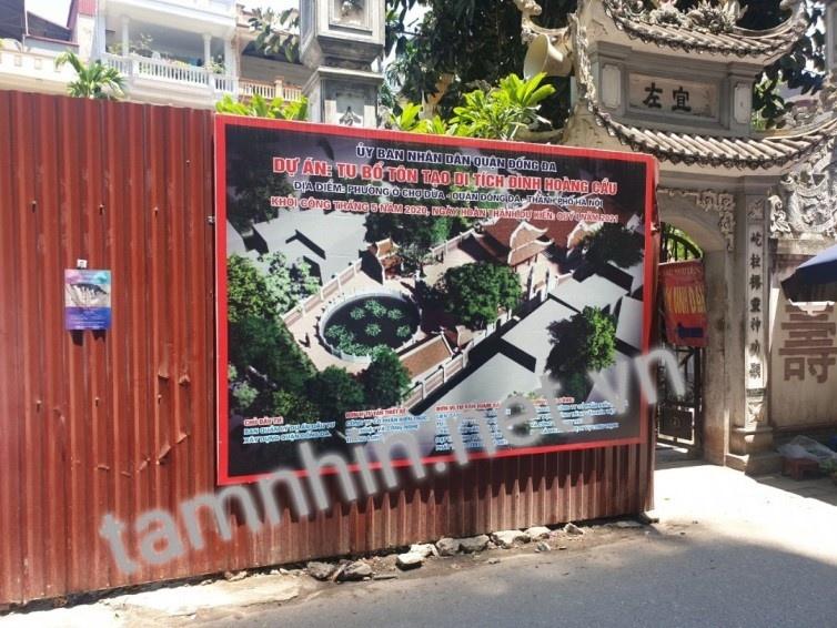 (Hà Nội) Di tích lịch sử cấp Quốc gia đặc biệt Đình Hoàng Cầu: Dự án tu bổ, vì sao đập bỏ xây lại?