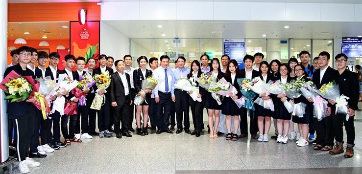 Học sinh Việt Nam ghi dấu ấn tại Hội thi khoa học kĩ thuật quốc tế 2018
