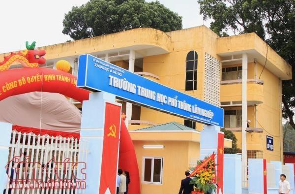 Thành lập mới 7 trường THPT năm học 2018-2019