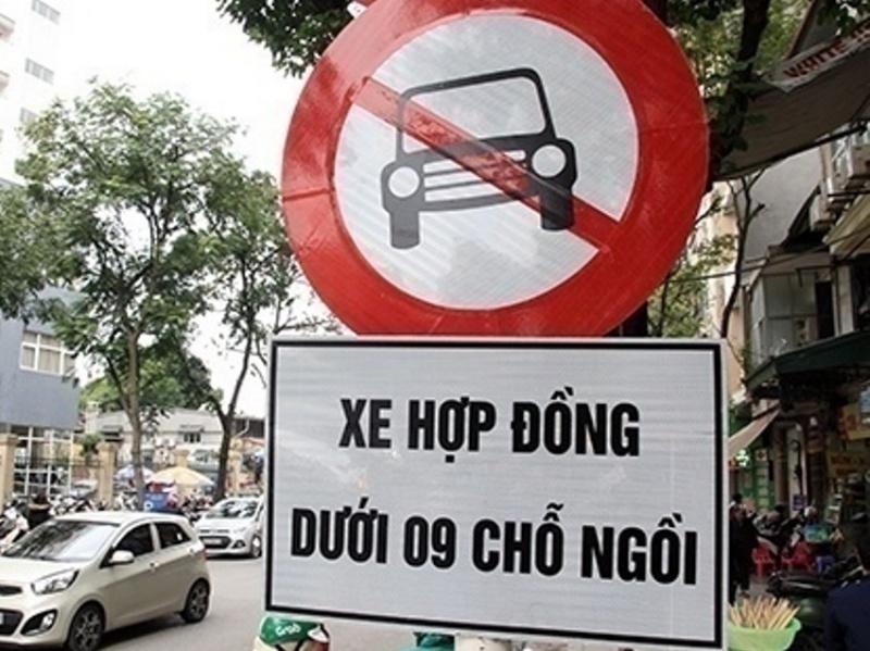 ha noi chinh thuc cam duong xe grab uber nhu taxi