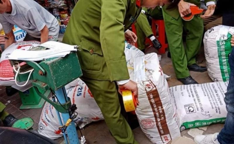 thai binh thu giu 4 tan bot ngot khong ro nguon goc