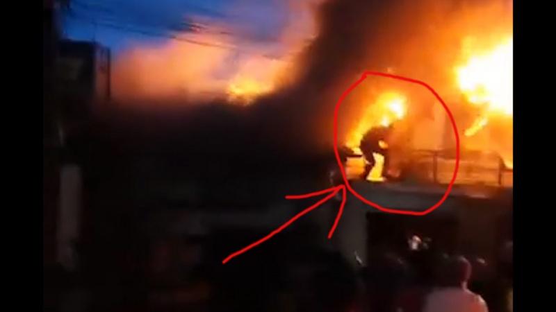 """Đà Lạt: Một ngôi sao """"dũng cảm"""" chẳng ngại hiểm nguy  nhảy vào đám cháy cứu người"""