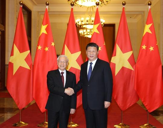 Hai Tổng bí thư Việt Nam - Trung Quốc trao đổi thư chúc mừng