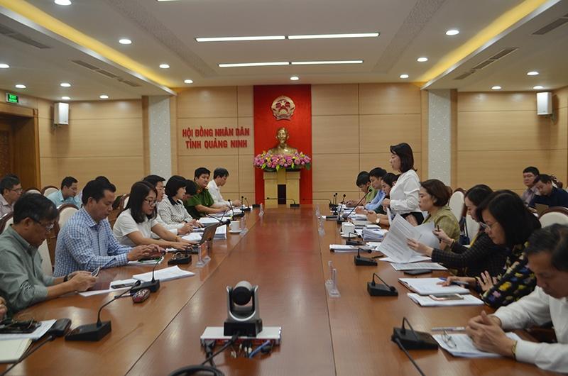 Quảng Ninh:  HĐND tỉnh làm việc với UBND tỉnh về công tác quản lý ATTP