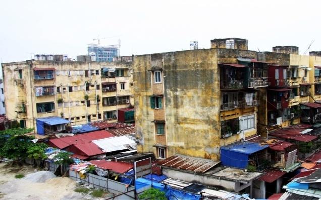 Hải Phòng:   Cải tạo, xây dựng lại các chung cư cũ xuống cấp
