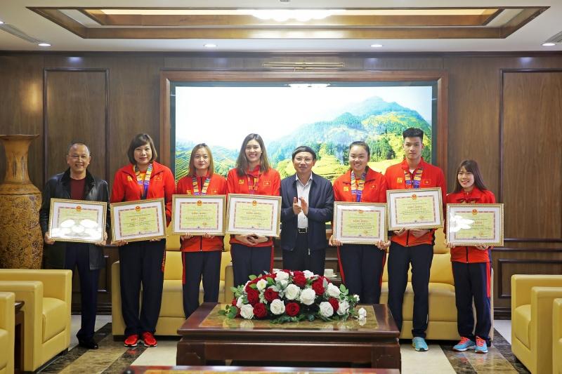Quảng Ninh:  Gặp mặt, khen thưởng các VĐV, HLV tham dự SEA Games 30