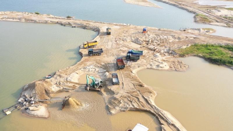 Quảng Ngãi kiên quyết xử lý vấn nạn khai thác khoáng sản sai phép