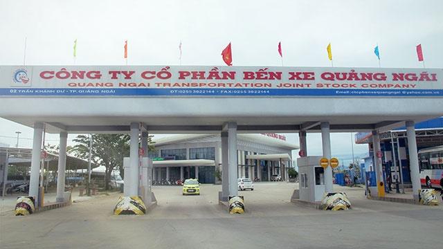 Bến xe Quảng Ngãi không thực hiện nghiêm quy định phòng chống dịch