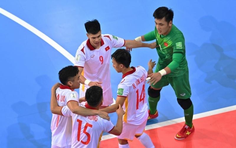 Futsal Việt Nam nuôi hy vọng đi tiếp ở World Cup