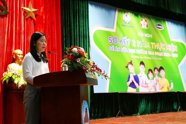 Đà Nẵng tổ chức Hội nghị sơ kết Đề án Sữa học đường giai đoạn 2018 - 2020