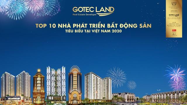 Gotec Land bứt phá thành công trong năm 2020