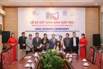 vietnam grand prix hop tac voi tong cuc du lich viet nam quang ba chang dua f1