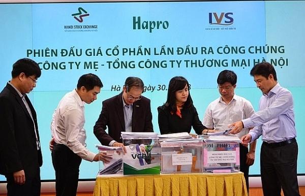 346 nhà đầu tư mua hết 75,9 triệu cổ phần Hapro