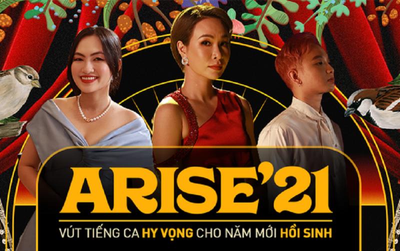 Arise'21 – Ta sẽ hồi sinh tạo ấn tượng mạnh với khán giả