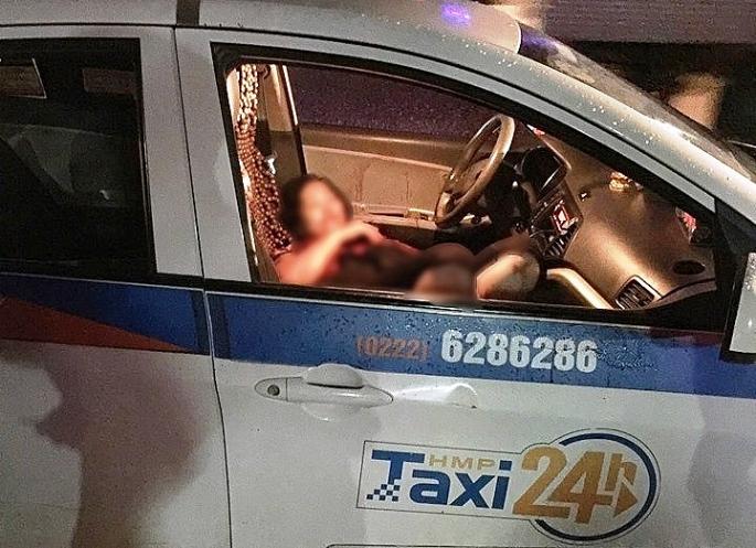 nguoi dan ong dam guc nu tai xe taxi roi vung dao de ket lieu doi minh