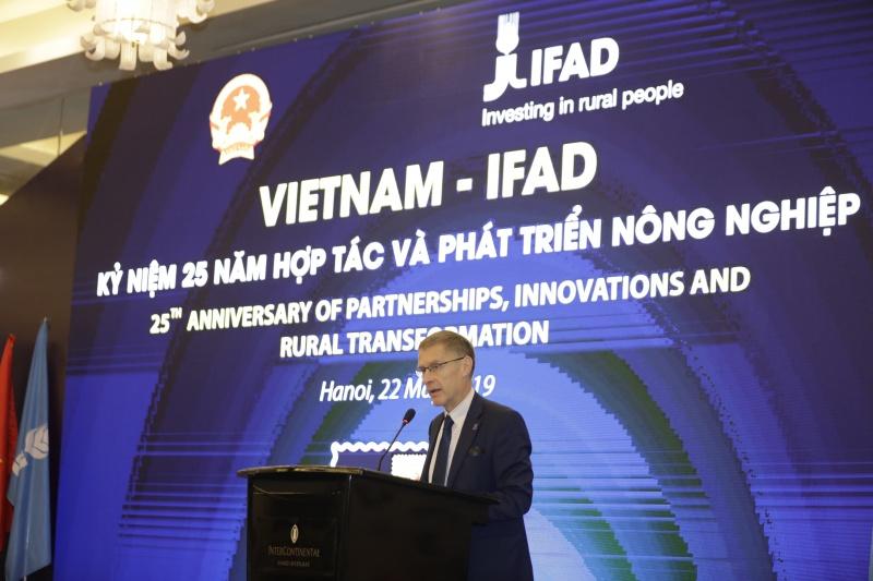 IFADđối tác quan trọng giảm nghèo và thúc đẩy phát triển nông nghiệp tại Việt Nam