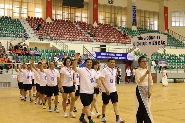 EVNNPC: Khai mạc Hội thao công nhân viên chức lao động năm 2019