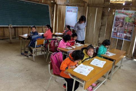 Tập đoàn TNG Holdings Vietnam gây quỹ xây trường cho trẻ em vùng cao