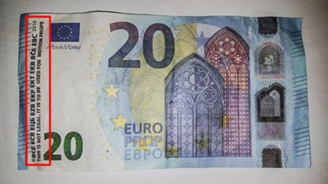 Giấy bạc giả 20 Euro đang hoành hành ở thị trường nước Pháp