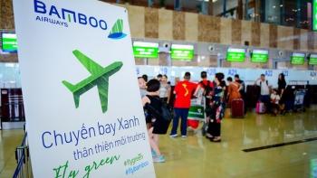 chuyen bay cua bamboo airways khoi dau hanh trinh bay xanh