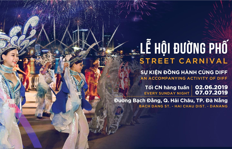 Carnival đường phố DIFF 2019 tiếp tục khuấy động không gian phố đêm Đà Nẵng