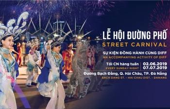 carnival duong pho diff 2019 tiep tuc khuay dong khong gian pho dem da nang