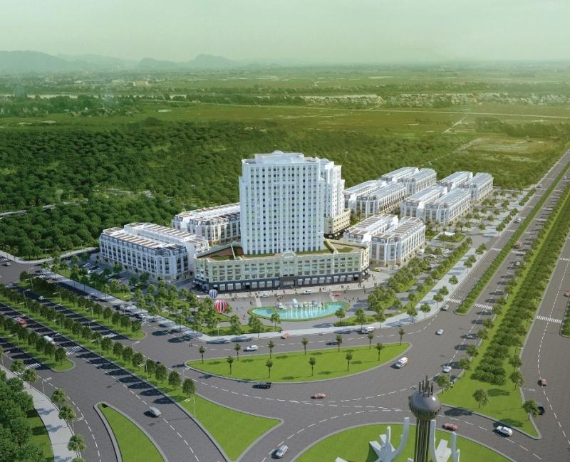 Phố đêm Hoa Châu - Phố mua sắm giải trí đầu tiên tại Thanh Hóa