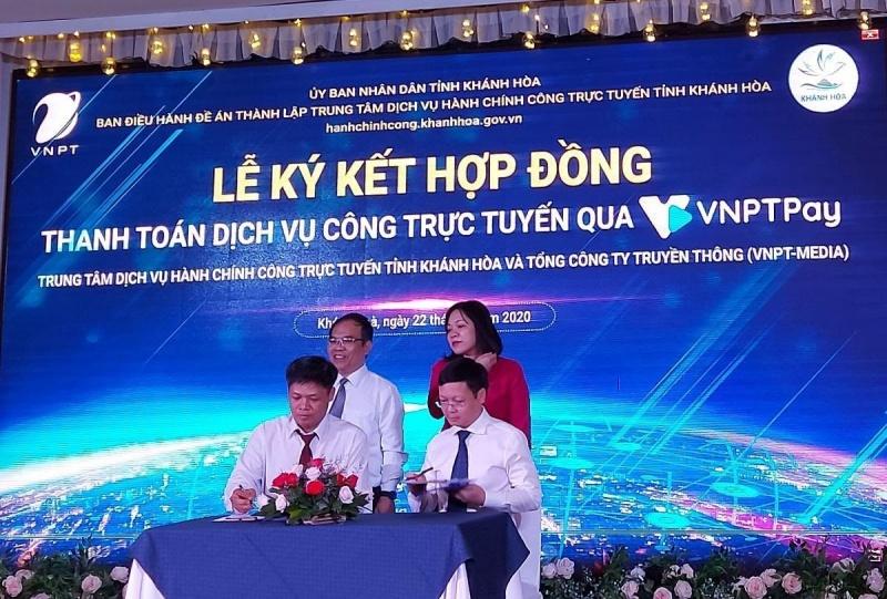 Khánh Hòa: tích hợp VNPT Pay cho các dịch vụ hành chính công