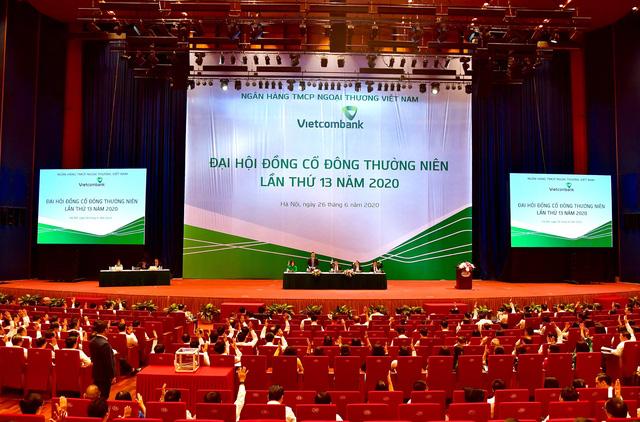 vietcombank to chuc dai hoi dong co dong thuong nien lan thu 13 nam 2020